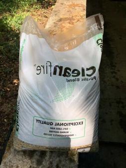 Clean Fire Wood Pellets For Pellet Stove 40lb Bag